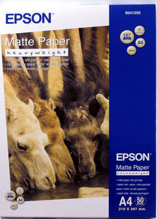 Matte Paper-Heavyweight A4 (C13S041256)