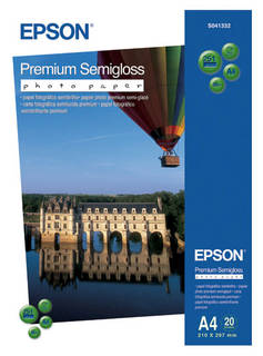 Premium Semigloss Photo Paper A4 (C13S041332)
